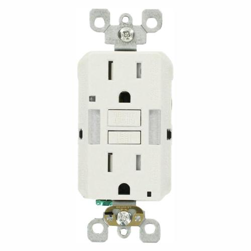 small resolution of 15 amp self test smartlockpro combo duplex guide light and tamper resistant gfci outlet white 3 pack