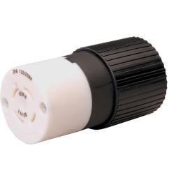 reliance controls twist lock 20 amp 125 250 volt connector [ 1000 x 1000 Pixel ]