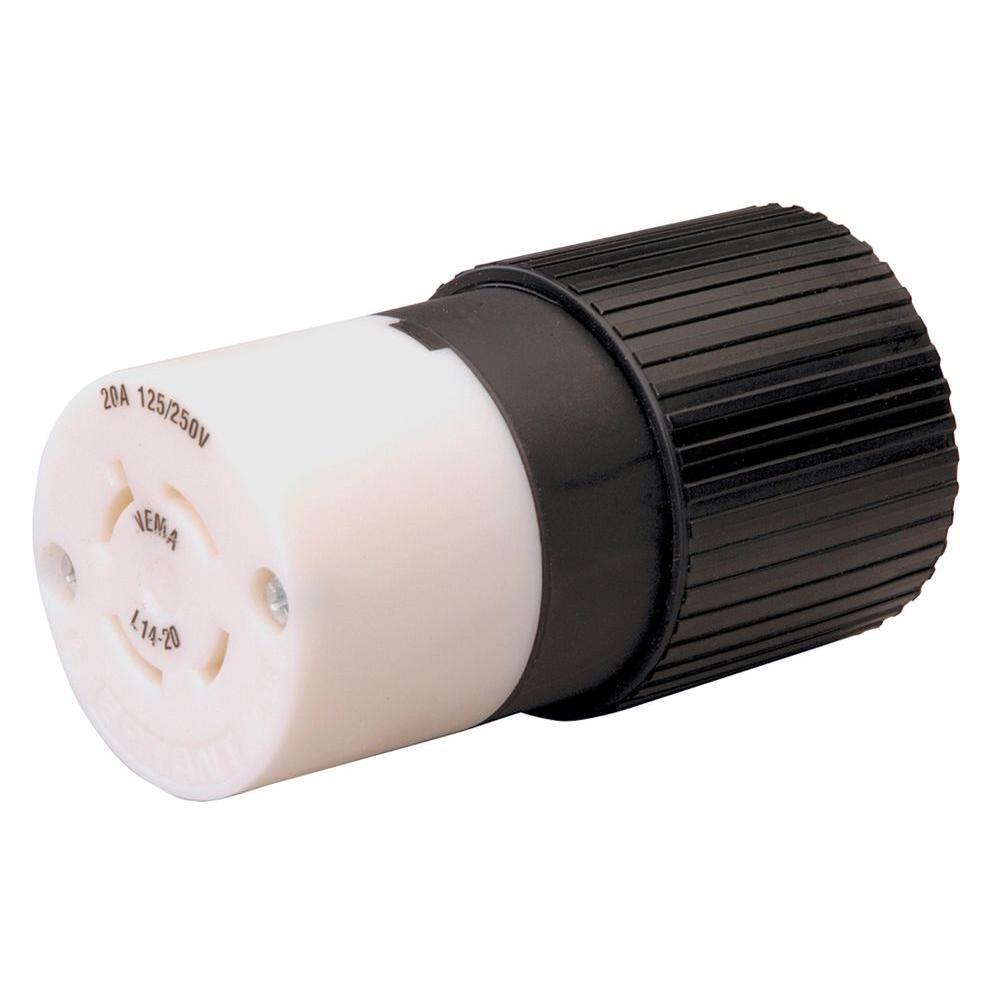 medium resolution of reliance controls twist lock 20 amp 125 250 volt connector