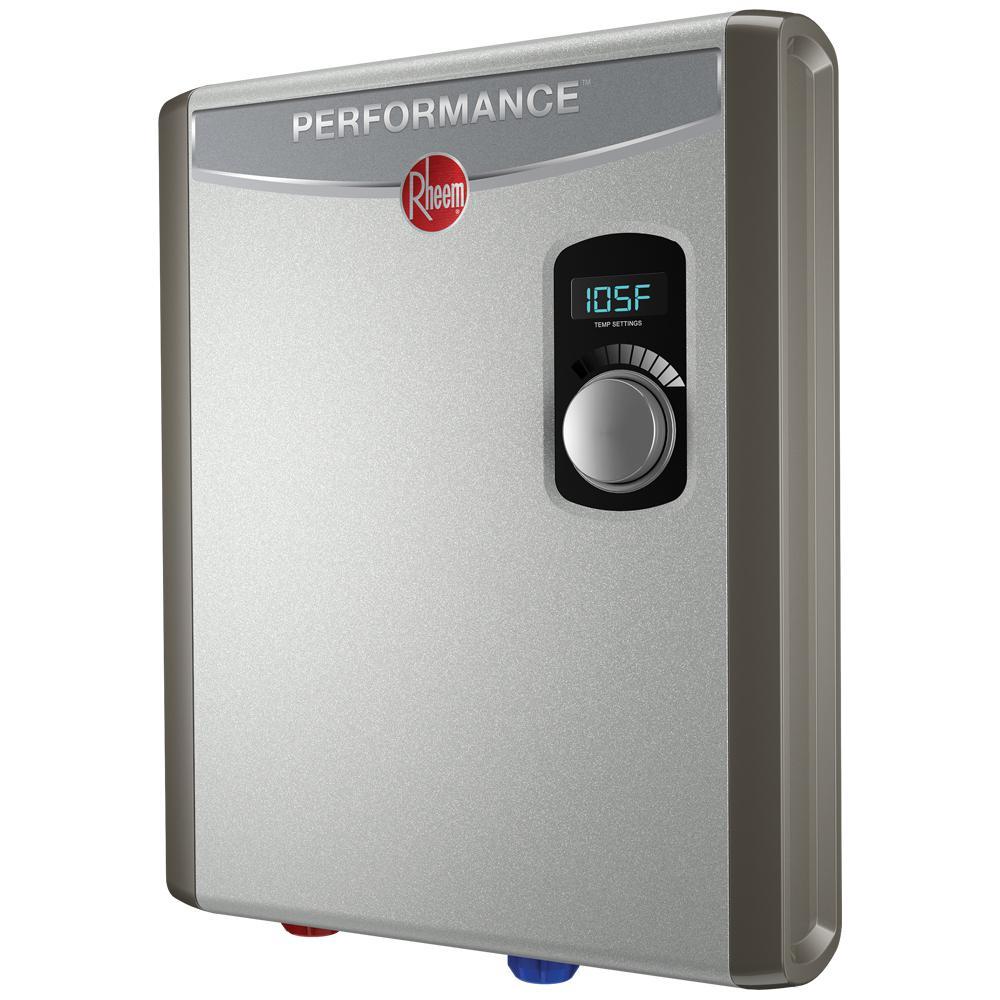 medium resolution of rheem performance 18 kw self modulating 3 5 gpm electric tankless water heater