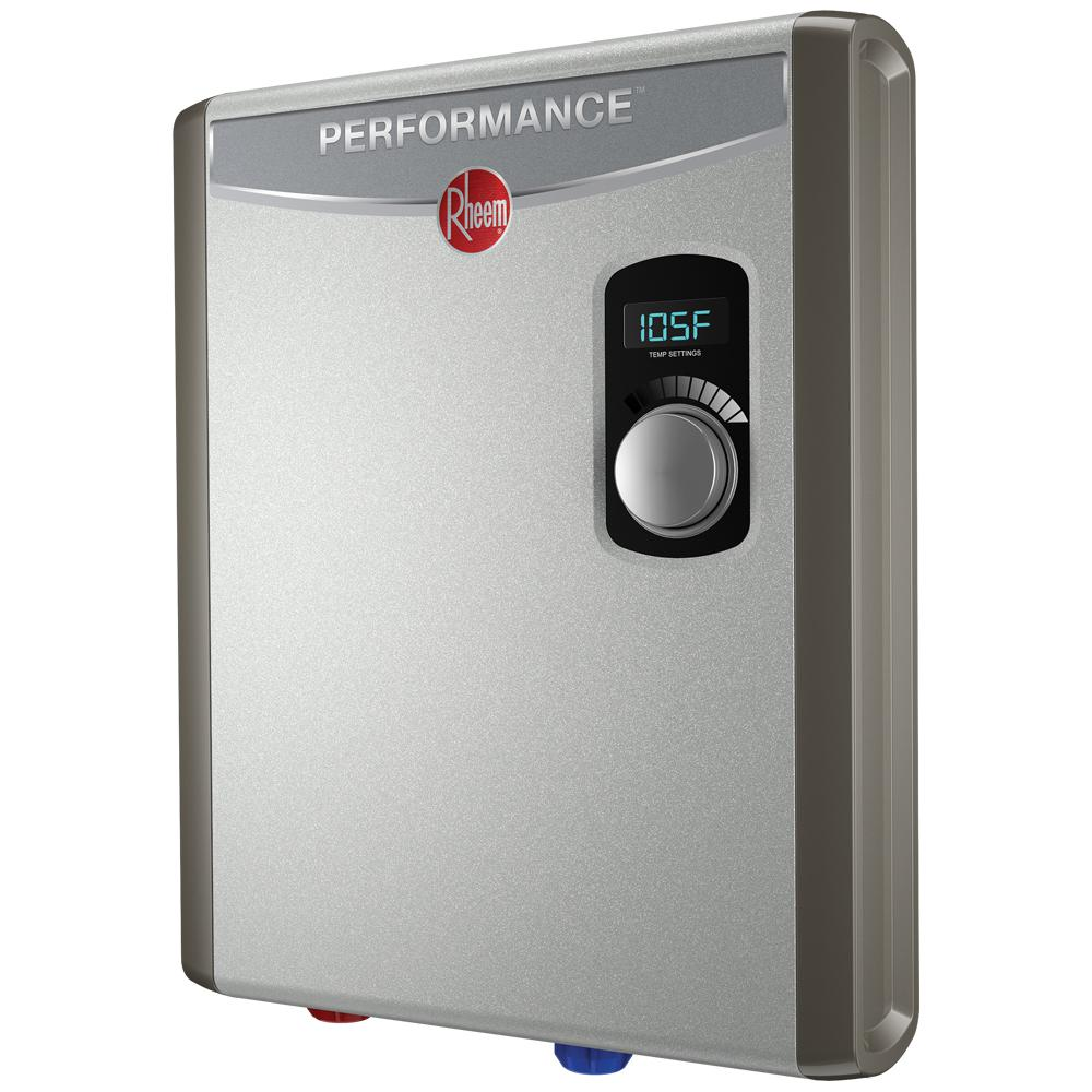 hight resolution of rheem performance 18 kw self modulating 3 5 gpm electric tankless water heater