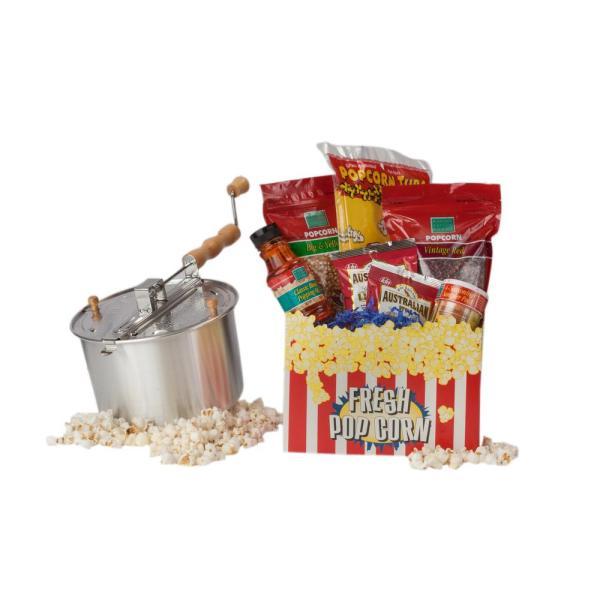 Whirley Pop 16-piece Aluminum Popcorn Popper Set-37030 - Home Depot