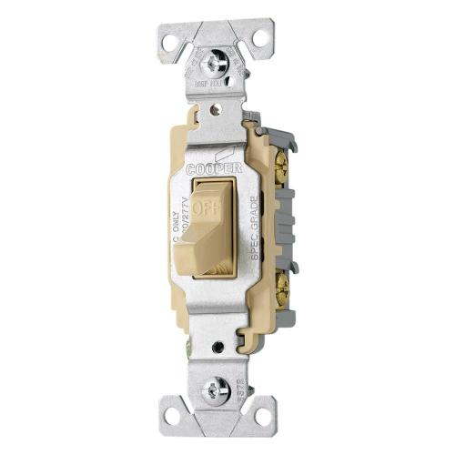 small resolution of eaton 20 amp double pole premium toggle switch ivory cs220v the shop cooper wiring devices 20amp ivory double pole light switch at
