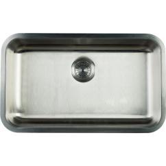 30 Kitchen Sink Supplies Glacier Bay Undermount Stainless Steel In Single Bowl