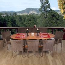Renaissance 9-piece Patio Dining Set-rennaissance