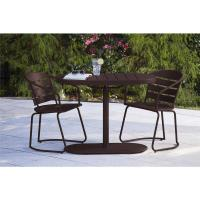 Cosco Metro Brown 3-Piece Steel Patio Bistro Set-87800SBDE ...