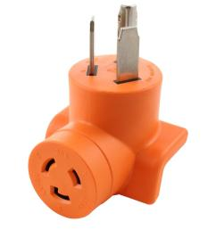 ac works 30 amp 3 prong 10 30p dryer plug to l6 20r [ 1000 x 1000 Pixel ]