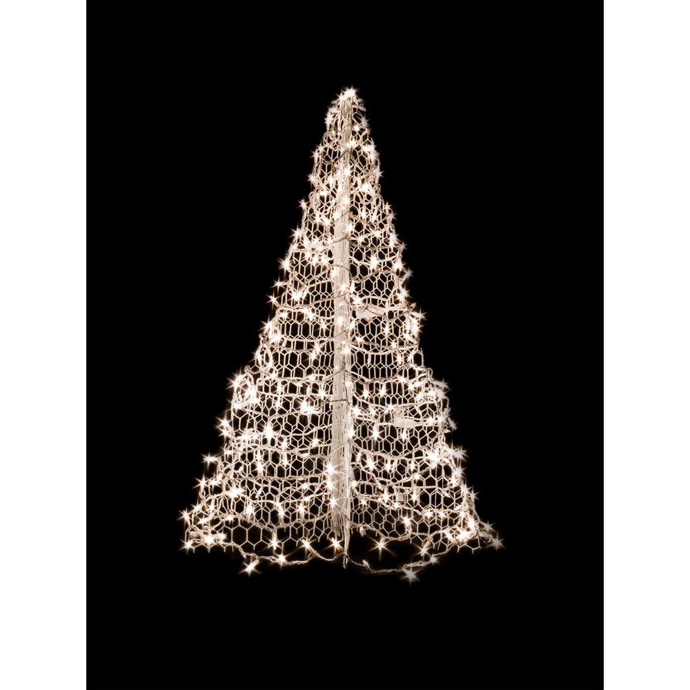 Christmas Trees With Lights And Decorations