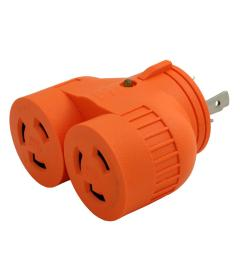 ac works ac works industrial v duo outlet adapter l6 30p 30 amp 3 [ 1000 x 1000 Pixel ]