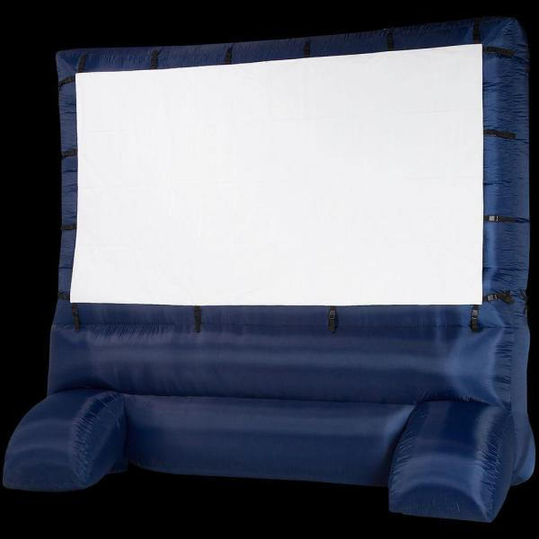 12 Ft. Inflatable Diagonal Widescreen Airblown Deluxe Movie Screen-39127x - Home Depot