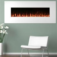 Northwest 50 in. Electric Fireplace Color Changing Wall in ...