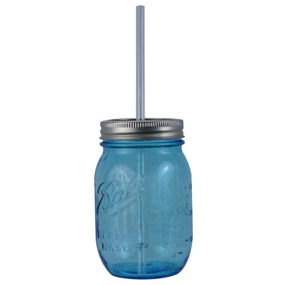 redneck 16 oz blue