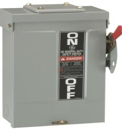 200 amp 240 volt non fused outdoor general duty safety switch [ 1000 x 1000 Pixel ]
