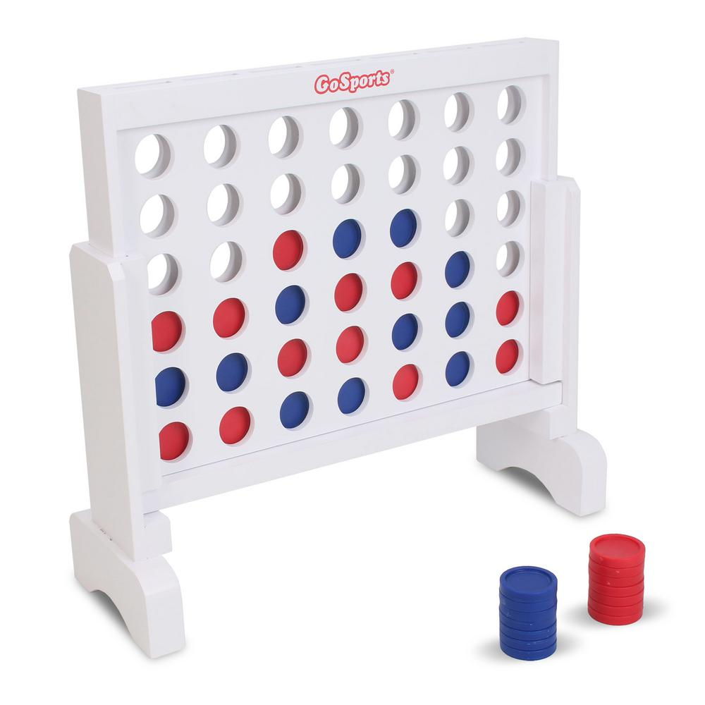 Large Wooden Connect Four Game