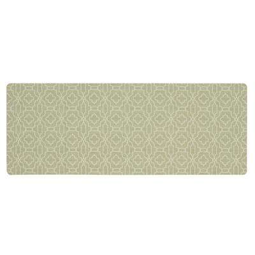kitchen mats design a layout micro elegance chavet lattice 18 in x 48 mat