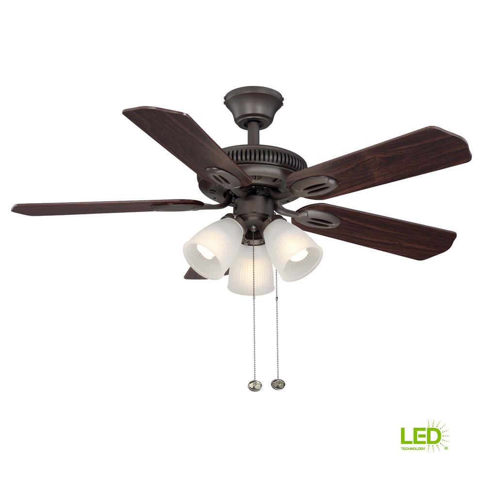 hight resolution of  diagram wiring for ceiling hampton bay glendale 42 in led indoor oil rubbed bronze ceiling fan with light