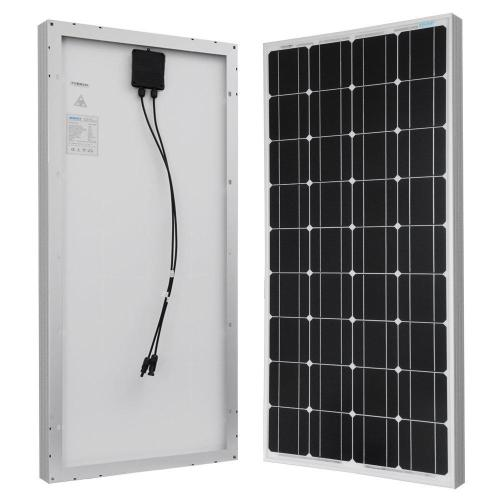 small resolution of 100 watt 12 volt monocrystalline solar panel for rv boat back