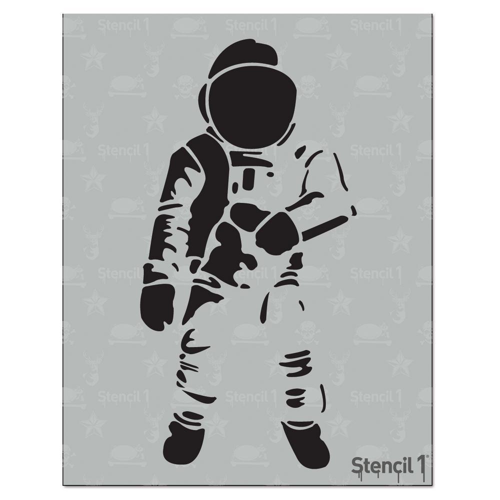 Stencil1 Astronaut Stencil S10137 The Home Depot