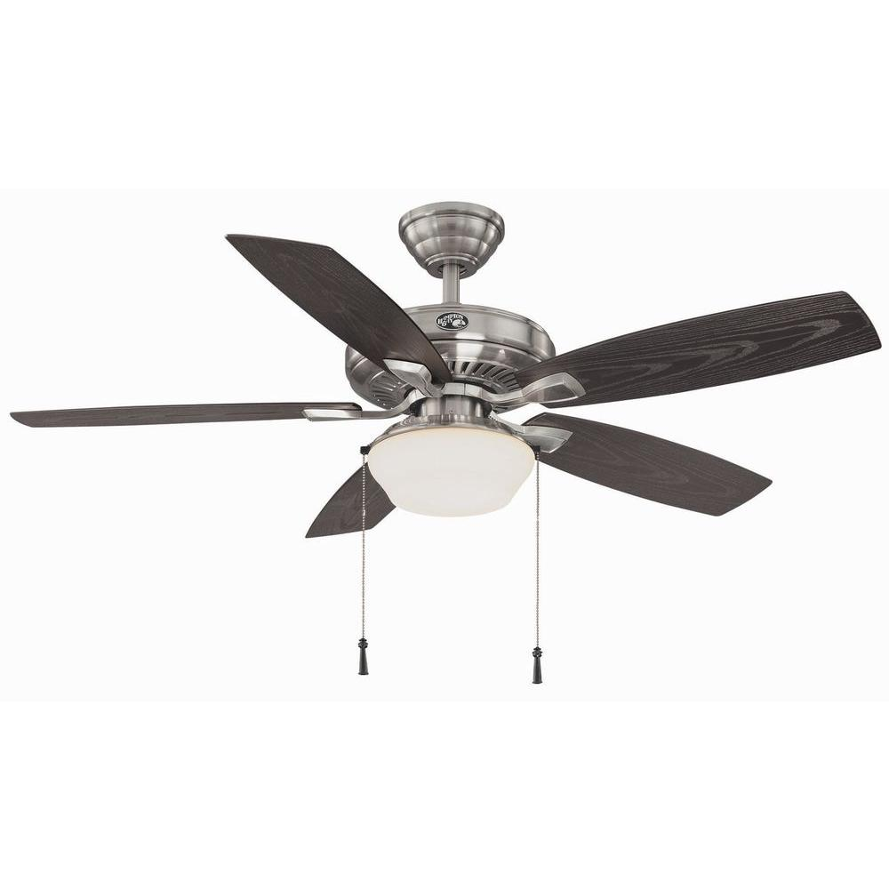 medium resolution of  hampton bay gazebo 52 in led indoor outdoor white ceiling fan with on