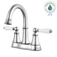 Pfister Courant 4 in. Centerset 2-Handle Bathroom Faucet ...