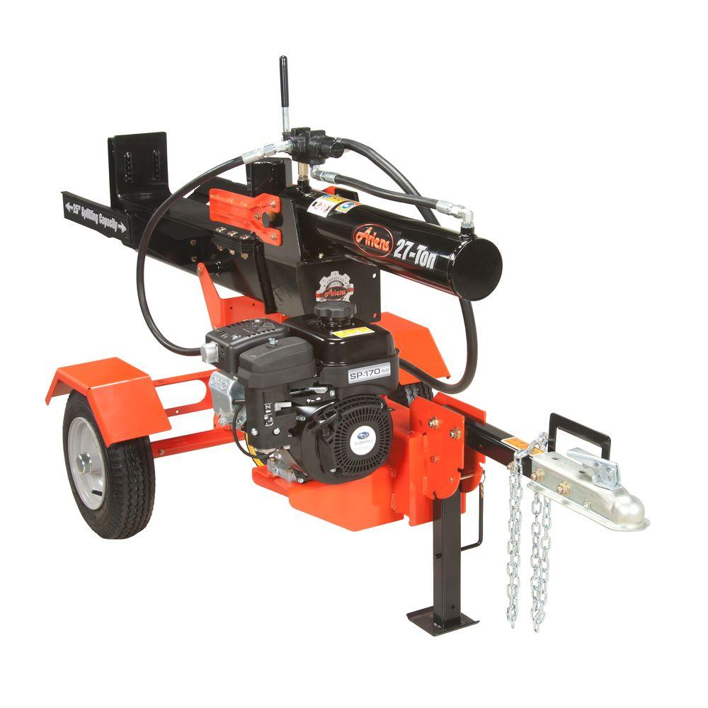 medium resolution of ariens 27 ton 169cc gas log splitter