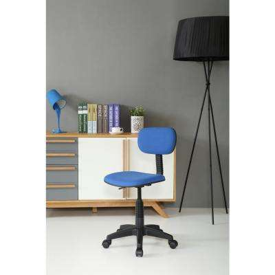 blue office chair modloft dining chairs home furniture the depot