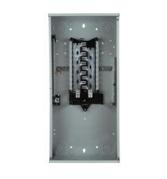 square d qo 30 amp 2 space 2 circuit indoor main lug load center qo2l30scp the home depot [ 1000 x 1000 Pixel ]