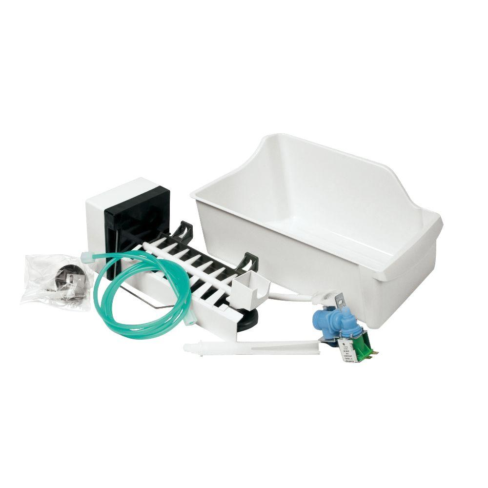 hight resolution of universal top mount refrigerator ice maker kit