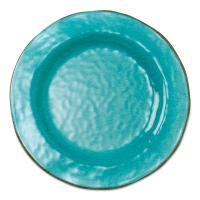 Tag 10-3/4 in. Ocean Blue Veranda Melamine Dinner Plates ...