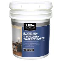 BEHR Premium 5 gal. Basement and Masonry Waterproofing ...