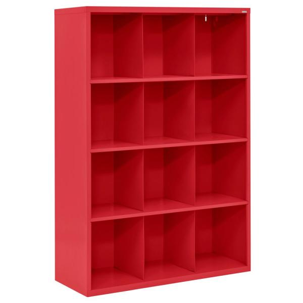 Cubby 46 In. X 66 Red 12-cube Organizer-ic00461866-01 - Home Depot