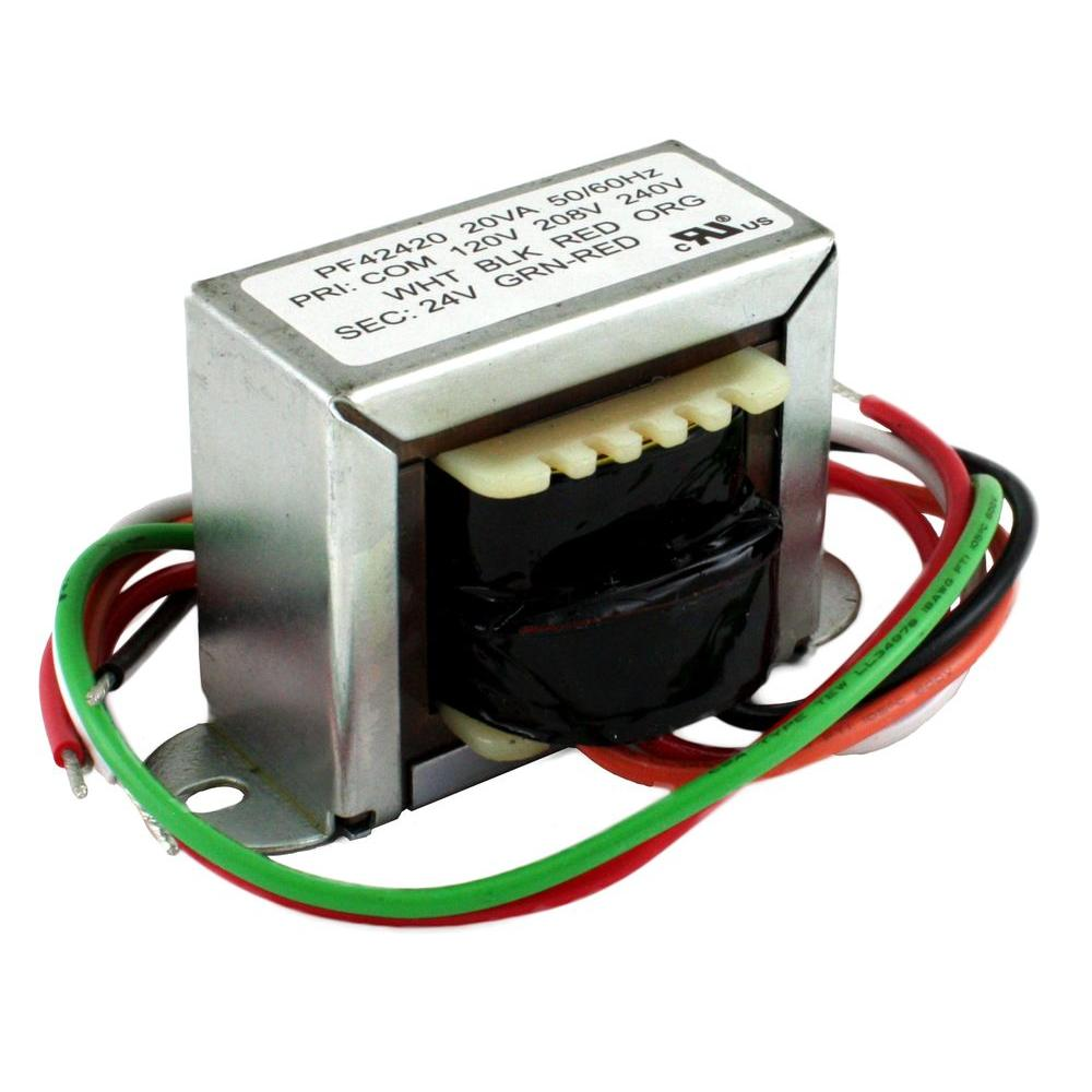 medium resolution of 20va 120 20 240 volt 24 volt secondary 2 ft mount transformer