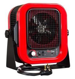cadet the hot one 5000 watt 240 volt electric garage portable heater [ 1000 x 1000 Pixel ]