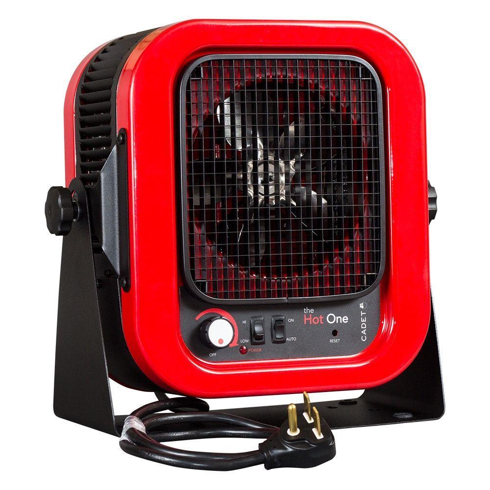 medium resolution of cadet the hot one 5000 watt 240 volt electric garage portable heater