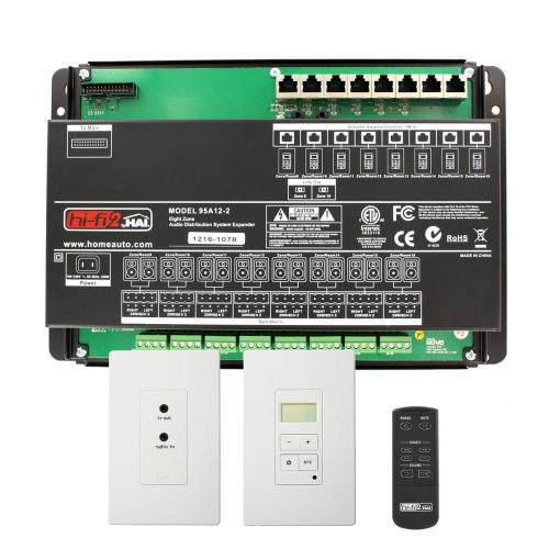 small resolution of leviton hi fi 2 8 zone 8 source kit for structured wiring enclosures