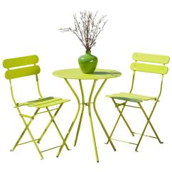 Green Metal Bistro Chairs Steelcase Leap Chair V2 Rst Brands Sol 3 Piece Patio Set Op Bs3 Grn The