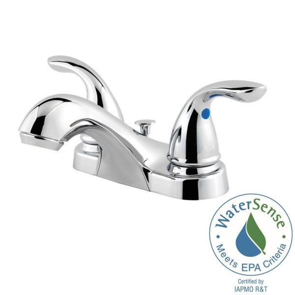 Pfister Centerset Bathroom Chrome Faucet