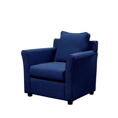 royal blue chairs chair gym ab exercises living room furniture the home depot beltram brown woven linen accent arm