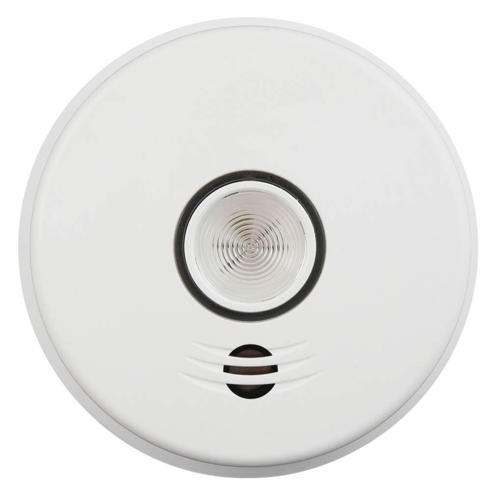 medium resolution of hardwire smoke detector with 10 year battery backup intelligent wire free voice interconnect and safety light