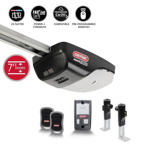 small resolution of machforce 2 hp premium screw drive garage door opener