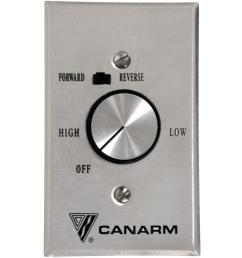 canarm industrial fan control for 4 fans [ 1000 x 1000 Pixel ]