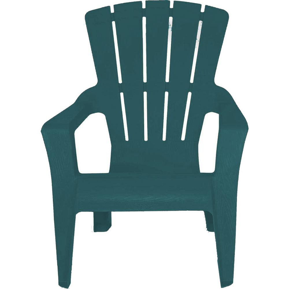 stackable resin adirondack chairs blue saucer chair charleston 242929 the home depot store sku 1003866838