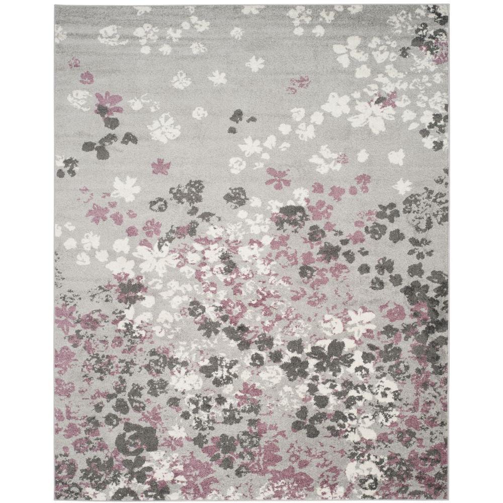 area rugs for kitchen motion faucet safavieh adirondack light grey/purple 8 ft. x 10 ...