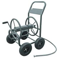 Hampton Bay 4-Wheel Hose Cart-840 - The Home Depot