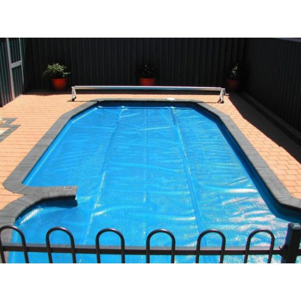 Pool Central 12 Ft. X 24 Rectangular Heat Wave Solar Cover In Blue-31531930 - Home