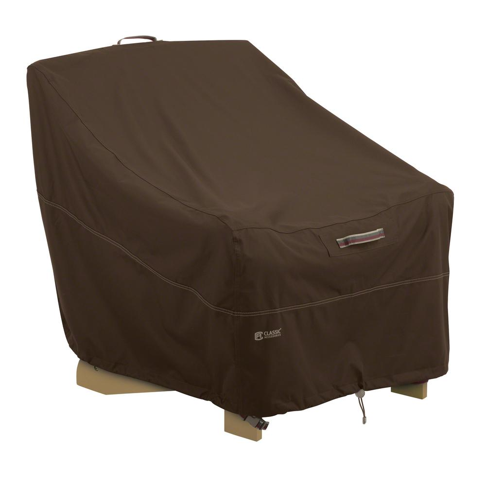adirondack chair covers home depot and a half slipcover classic accessories madrona rainproof cover 55 738