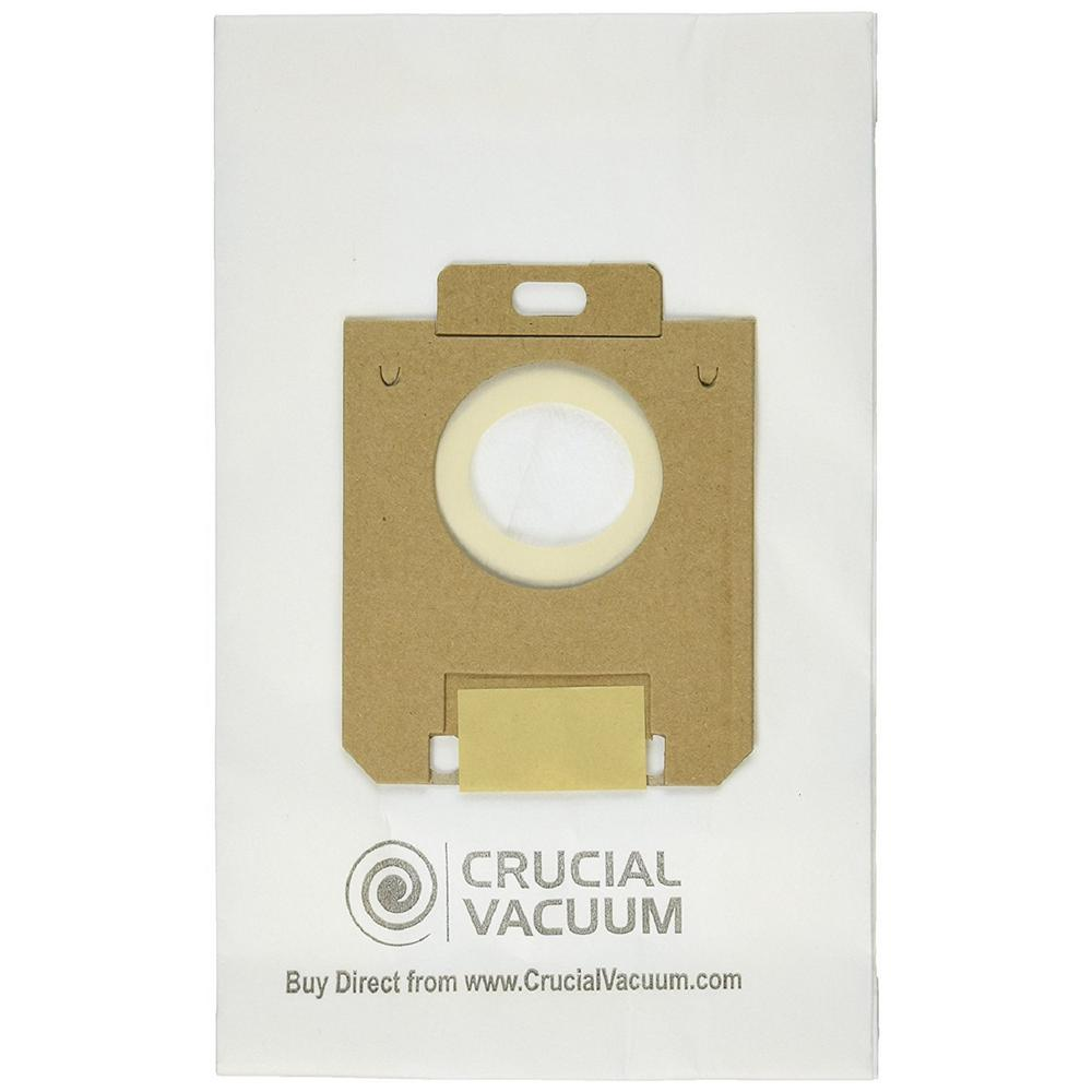 medium resolution of think crucial 4 pack replacement paper bags fits eureka style ox and electrolux style