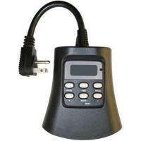Westek Plug-In 3-Outlet Outdoor Digital Photocell Timer ...