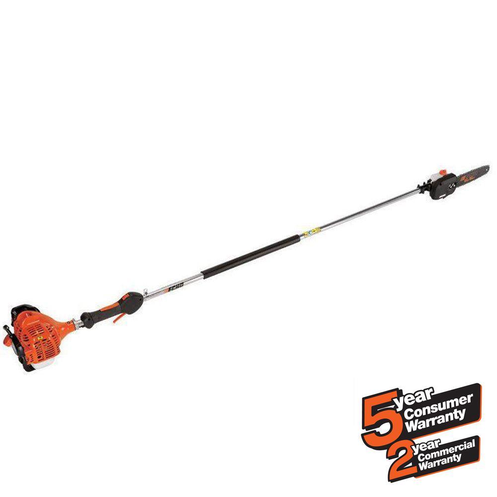 ECHO 10 in. 21.2cc Gas 2-Stroke Cycle Pole Saw-PPF-225