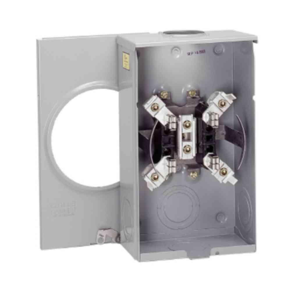 medium resolution of 200 amp single meter socket aep approved